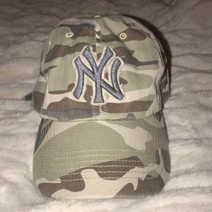 Camo New York Yankees hat